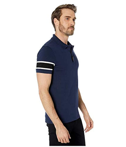 Lacoste Mens Short Sleeve Stretch Pique Semi-Fancy Slim Fit Polo Shirt