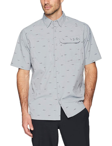 Under Armour Men's Fish Hunter Plaid Short Sleeve