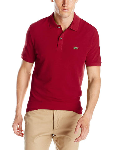 Lacoste Mens Classic Pique Slim Fit Short Sleeve Polo Shirt