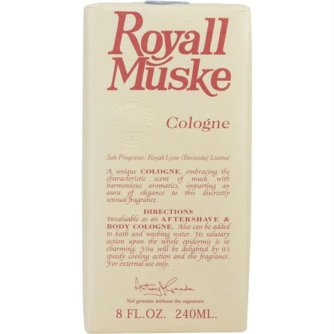 Buy Royall Muske By Royall Fragrances Aftershave Lotion Cologne 8 Oz at AuFreshScents.com.com