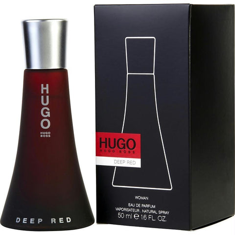 Hugo Deep Red By Hugo Boss Eau De Parfum Spray 1.6 Oz - AuFreshScents.Com