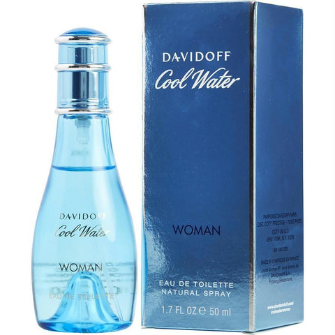Cool Water By Davidoff Edt Spray 1.7 Oz - AuFreshScents.Com
