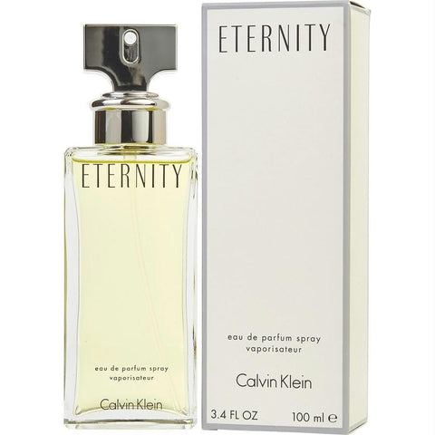 Eternity By Calvin Klein Eau De Parfum Spray 3.4 Oz - AuFreshScents.Com