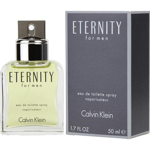 Eternity By Calvin Klein Edt Spray 1.7 Oz - AuFreshScents.Com