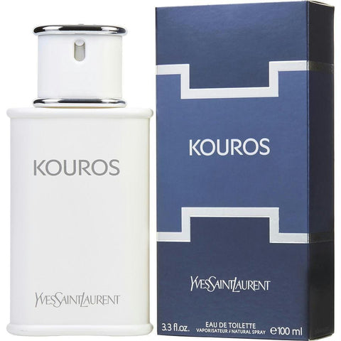 Kouros By Yves Saint Laurent Edt Spray 3.3 Oz - AuFreshScents.Com