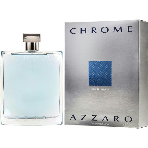 Chrome By Azzaro Edt Spray 6.8 Oz - AuFreshScents.Com