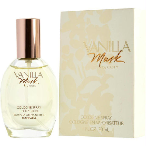 Vanilla Musk By Coty Cologne Spray 1 Oz - AuFreshScents.Com