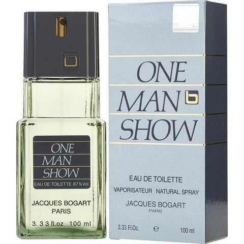 One Man Show By Jacques Bogart Edt Spray 3.3 Oz - AuFreshScents.Com