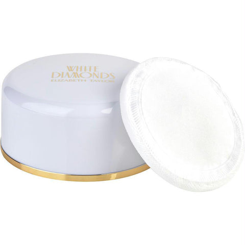 White Diamonds By Elizabeth Taylor Body Powder 2.6 Oz - AuFreshScents.Com