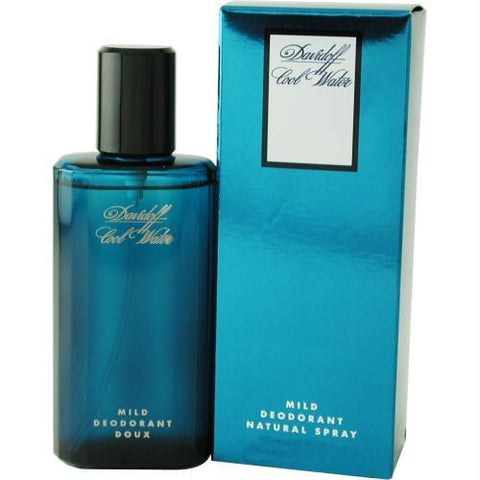 Cool Water By Davidoff Deodorant Mild Spray 2.5 Oz - AuFreshScents.Com