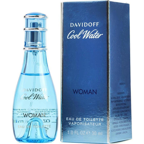 Cool Water By Davidoff Edt Spray 1 Oz - AuFreshScents.Com