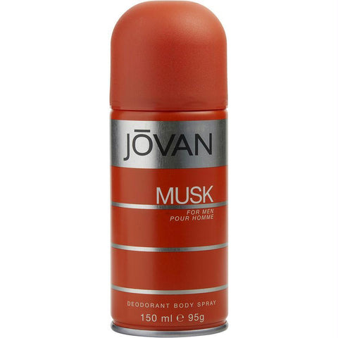 Jovan Musk By Jovan Deodorant Body Spray 5 Oz - AuFreshScents.Com