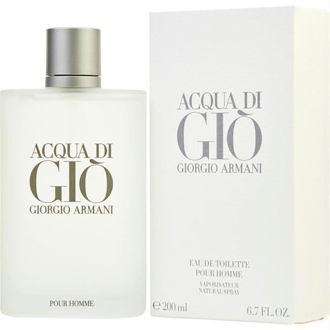 Acqua Di Gio By Giorgio Armani Edt Spray 6.7 Oz - AuFreshScents.Com