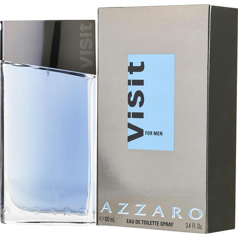 Azzaro Visit By Azzaro Edt Spray 3.4 Oz - AuFreshScents.Com