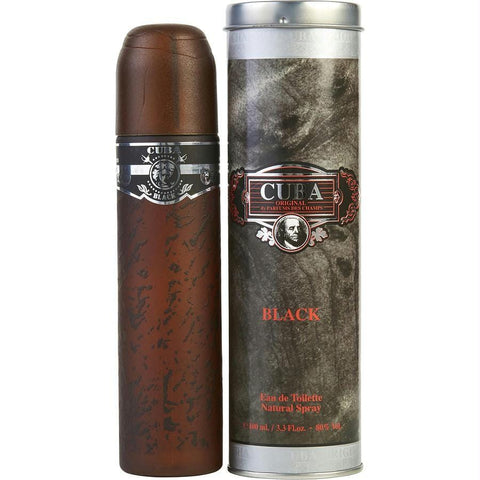 Cuba Black By Cuba Edt Spray 3.3 Oz - AuFreshScents.Com