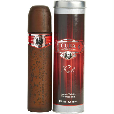 Cuba Red By Cuba Edt Spray 3.3 Oz - AuFreshScents.Com