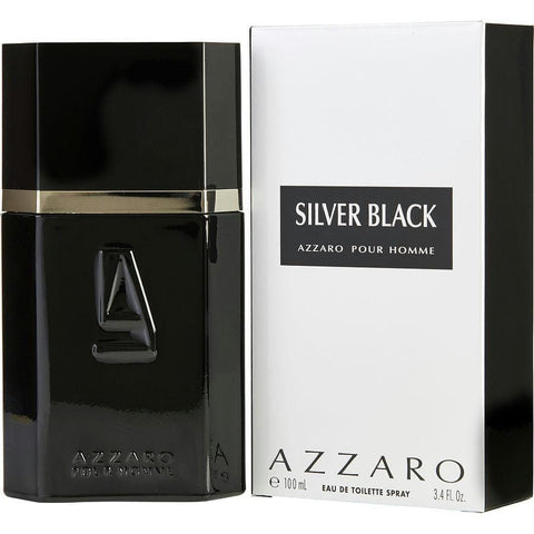 Azzaro Silver Black By Azzaro Edt Spray 3.4 Oz - AuFreshScents.Com