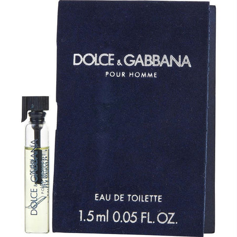 Buy Dolce & Gabbana By Dolce & Gabbana Edt Vial On Card at AuFreshScents.com.com