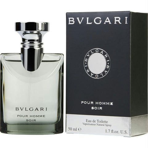 Bvlgari Pour Homme Soir By Bvlgari Edt Spray 1.7 Oz - AuFreshScents.Com