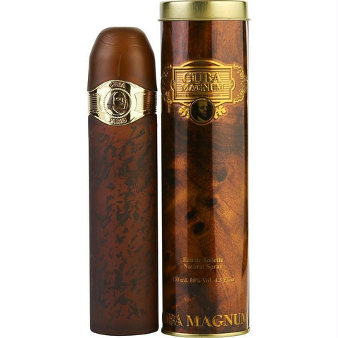Cuba Magnum Gold By Cuba Edt Spray 4.3 Oz - AuFreshScents.Com
