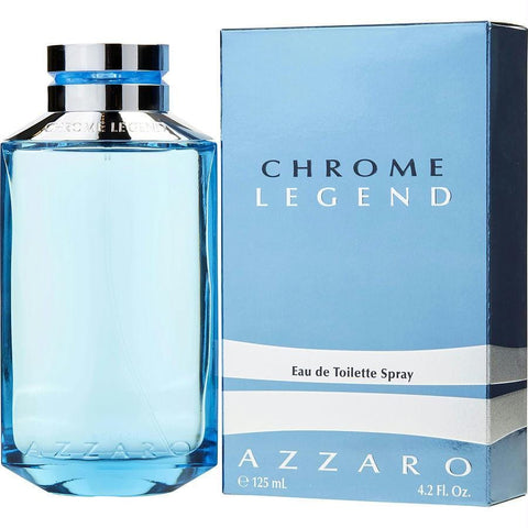 Chrome Legend By Azzaro Edt Spray 4.2 Oz - AuFreshScents.Com