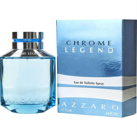 Chrome Legend By Azzaro Edt Spray 2.6 Oz - AuFreshScents.Com