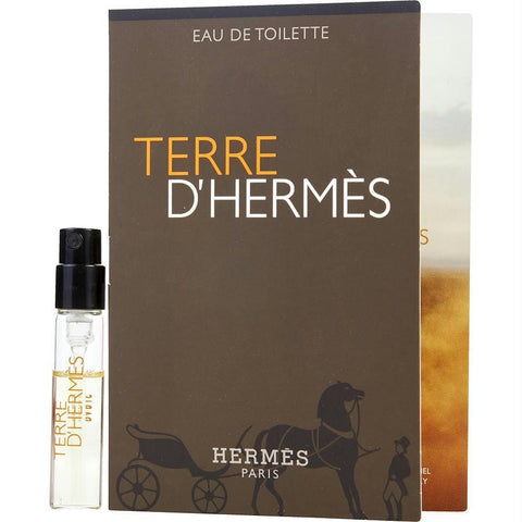 Terre D'hermes By Hermes Edt Spray Vial On Card - AuFreshScents.Com