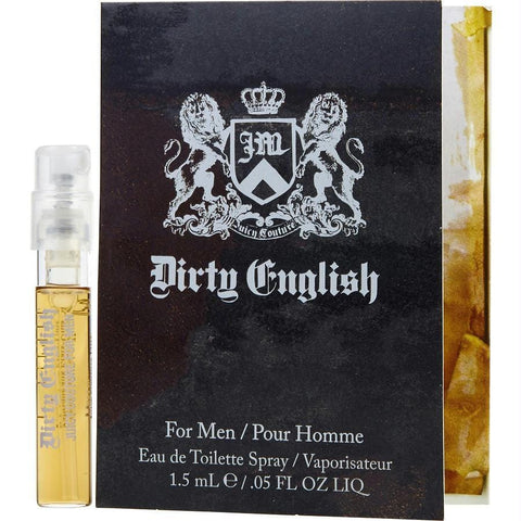 Dirty English By Juicy Couture Edt Spray Vial On Card - AuFreshScents.Com