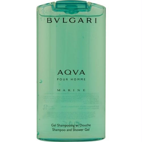 Bvlgari Aqua Marine By Bvlgari Shampoo And Shower Gel 6.8 Oz - AuFreshScents.Com
