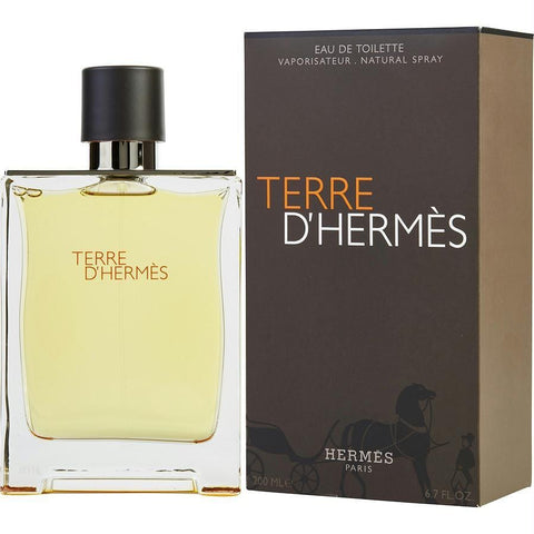 Terre D'hermes By Hermes Edt Spray 6.7 Oz - AuFreshScents.Com