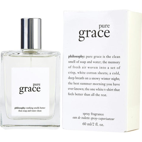 Philosophy Pure Grace By Philosophy Edt Spray 2 Oz