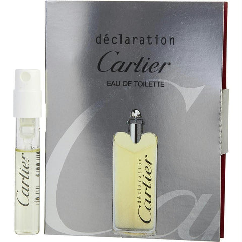 Declaration By Cartier Edt Spray Vial On Card - AuFreshScents.Com