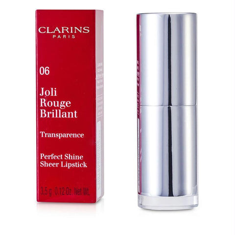 Clarins Joli Rouge Brillant (perfect Shine Sheer Lipstick) - # 06 Fig --3.5g-0.12oz By Clarins - AuFreshScents.Com