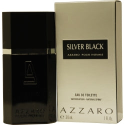Azzaro Silver Black By Azzaro Edt Spray 1 Oz