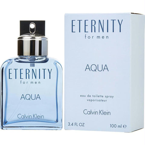 Eternity Aqua By Calvin Klein Edt Spray 3.4 Oz - AuFreshScents.Com