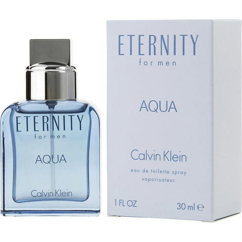 Eternity Aqua By Calvin Klein Edt Spray 1 Oz - AuFreshScents.Com