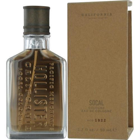 Hollister Socal By Hollister Eau De Cologne Spray 1.7 Oz - AuFreshScents.Com