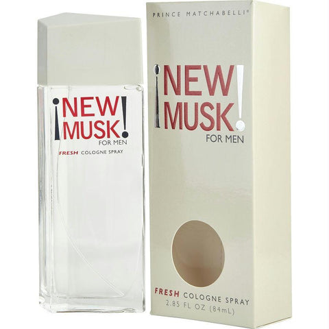 New Musk By Musk Cologne Spray 2.8 Oz - AuFreshScents.Com