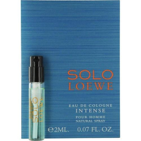 Solo Loewe Intense By Loewe Eau De Cologne Spray Vial On Card - AuFreshScents.Com