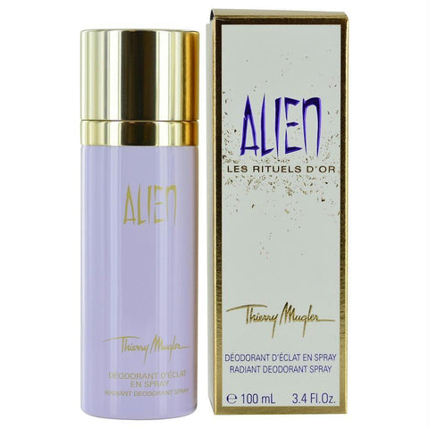 Alien By Thierry Mugler Deodorant Spray 3.4 Oz - AuFreshScents.Com