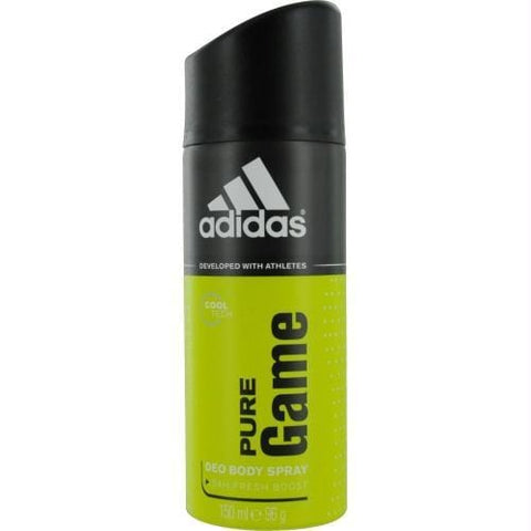 Adidas Pure Game By Adidas Deodorant Body Spray 5 Oz (developed With Athletes) - AuFreshScents.Com