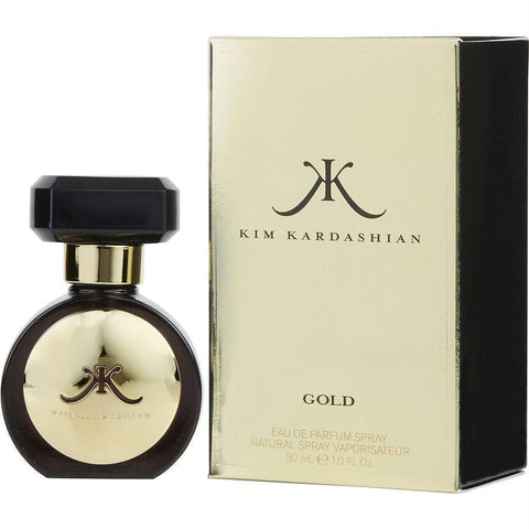 Kim Kardashian Gold By Kim Kardashian Eau De Parfum Spray 1 Oz - AuFreshScents.Com