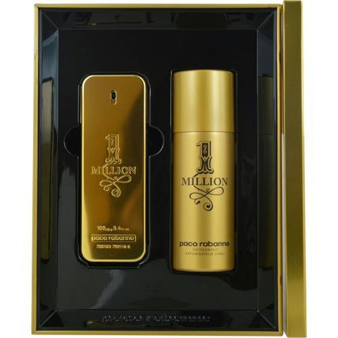 Paco Rabanne Gift Set Paco Rabanne 1 Million By Paco Rabanne - AuFreshScents.Com