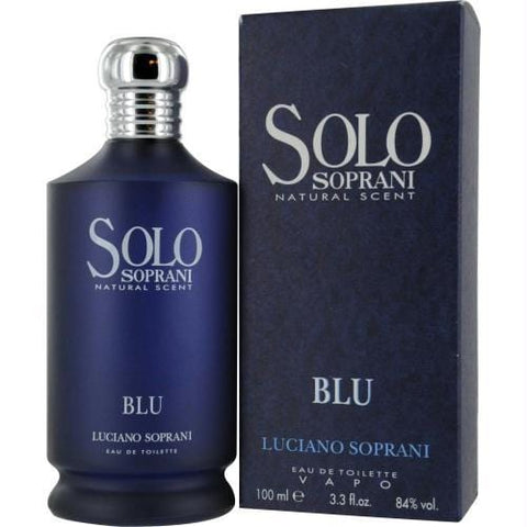Buy Solo Soprani Blu By Luciano Soprani Edt Spray 3.4 Oz at AuFreshScents.com.com