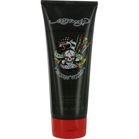 Ed Hardy Born Wild By Christian Audigier Hair & Body Wash 6.7 Oz - AuFreshScents.Com