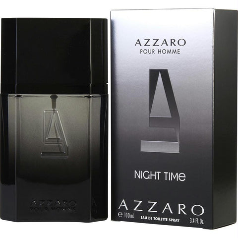 Azzaro Night Time By Azzaro Edt Spray 3.4 Oz - AuFreshScents.Com