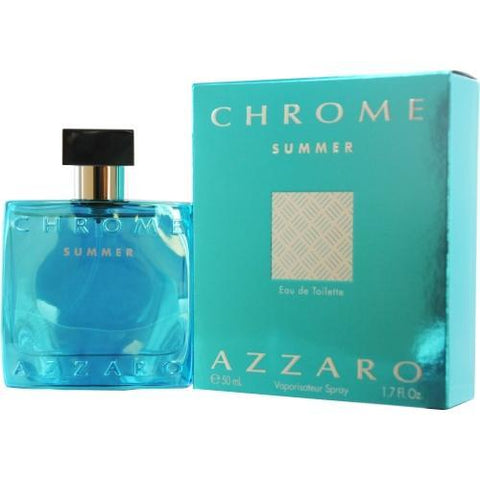 Chrome Summer By Azzaro Edt Spray 1.7 Oz (limited Edition 2012) - AuFreshScents.Com