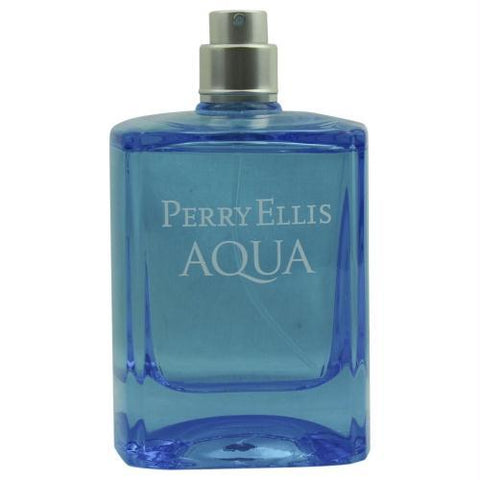 Perry Ellis Aqua By Perry Ellis Edt Spray 3.4 Oz *tester - AuFreshScents.Com