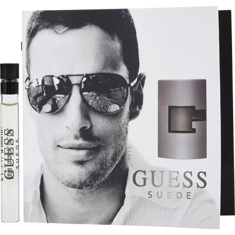 Guess Suede By Guess Edt Vial On Card - AuFreshScents.Com