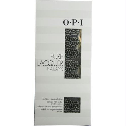 Buy Opi Pure Lacquer Nail Apps--geometric Sparkle--16 Pre-cut Strips By Opi at AuFreshScents.com.com